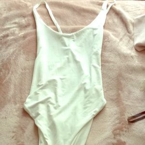 NWT White swimsuit